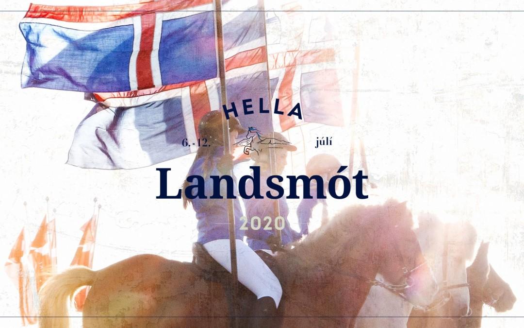 Jólagjöfin í ár er miði á Landsmót hestamanna 2020!